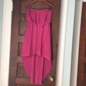BCBG dressy dress; size small